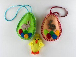 Les décorations de Pâques