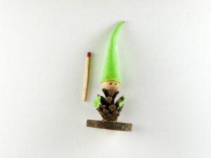 Lutin cone vert